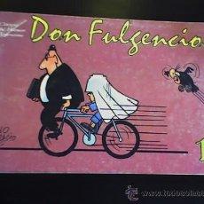 Cómics: DON FULGENCIO, POR LINO PALACIO - CLÁSICOS DEL HUMOR ARGENTINO - EDICIONES RECORD - ARGENTINA - 1995. Lote 20784454