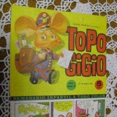 Cómics: TOPO GIGIO,Nº 12. Lote 25574113