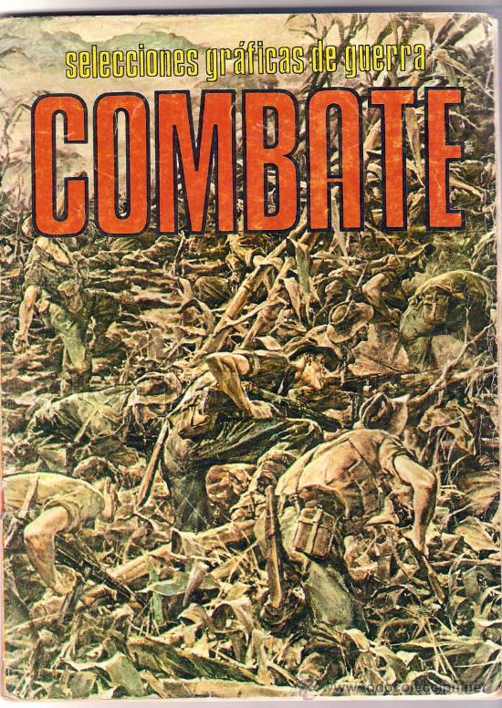 COMIC SELECCIONES GRÁFICAS DE GUERRA COMBATE-PRODUCCIONES EDITORIALES 1980, Nº 103 (Tebeos y Comics Pendientes de Clasificar)