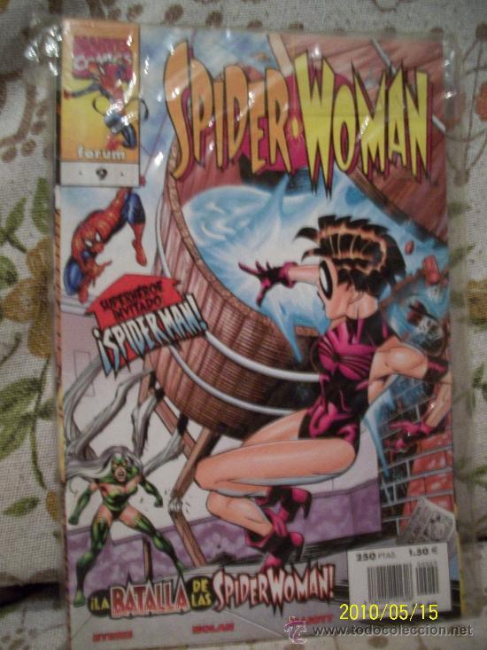 LOTE SPIDERGIRL Y SPIDERWOMAN (Tebeos y Comics - Comics Colecciones y Lotes Avanzados)