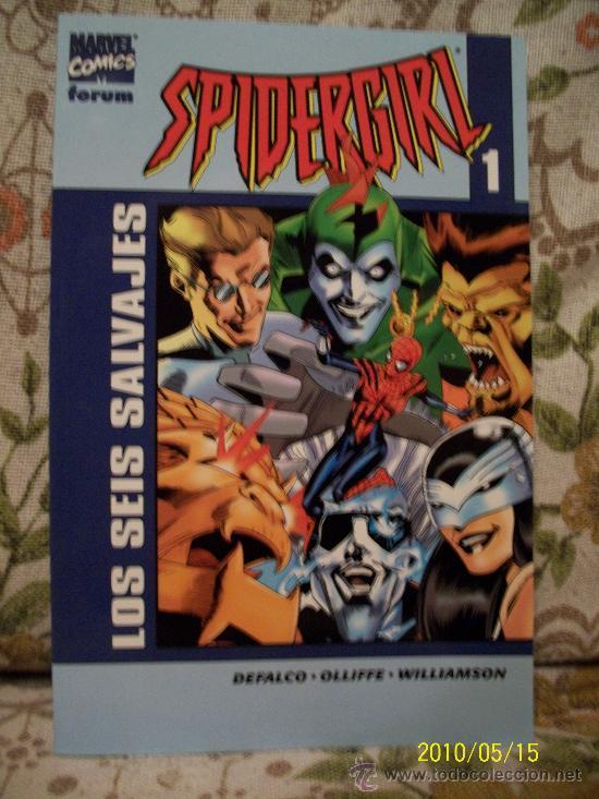 Cómics: LOTE SPIDERGIRL Y SPIDERWOMAN - Foto 5 - 19327542
