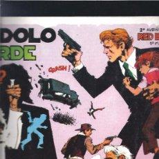 Cómics: RED BARRY EL IDOLO VERDE. Lote 19458866