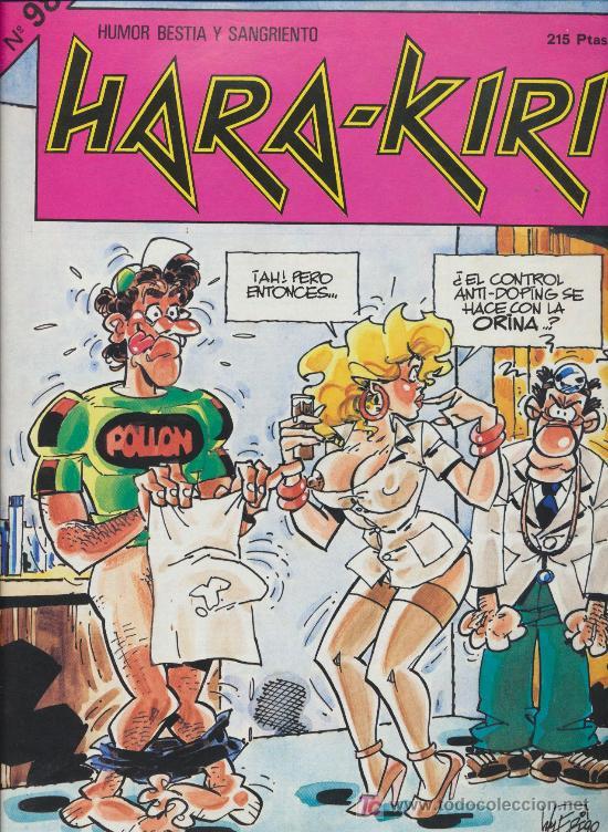 HARA-KIRI. LOTE DE 14 EJEMPLARES CORRELATIVOS (DEL Nº 98 AL 112) (Tebeos y Comics - Comics Colecciones y Lotes Avanzados)
