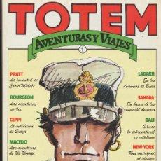 Cómics: TOTEM AVENTURAS Y VIAJES. COLECCIÓN COMPLETA (4 EJ.). Lote 19478261