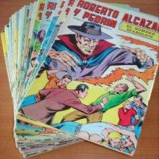 Cómics: LOTE DE 43 COMICS DE ROBERTO ALCAZAR Y PEDRIN. COLOR. EDITORIAL VALENCIANA.. Lote 26715144