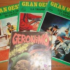 Cómics: LOTE DE 1 COMICS DEL OESTE. EDITORIAL GAVIOTA.. Lote 27593121