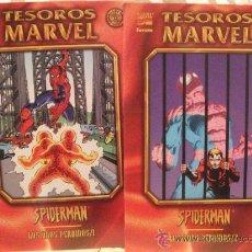 Cómics: TESOROS MARVEL SPIDERMAN LOS AÑOS PERDIDOS 1 Y 2. Lote 27220849