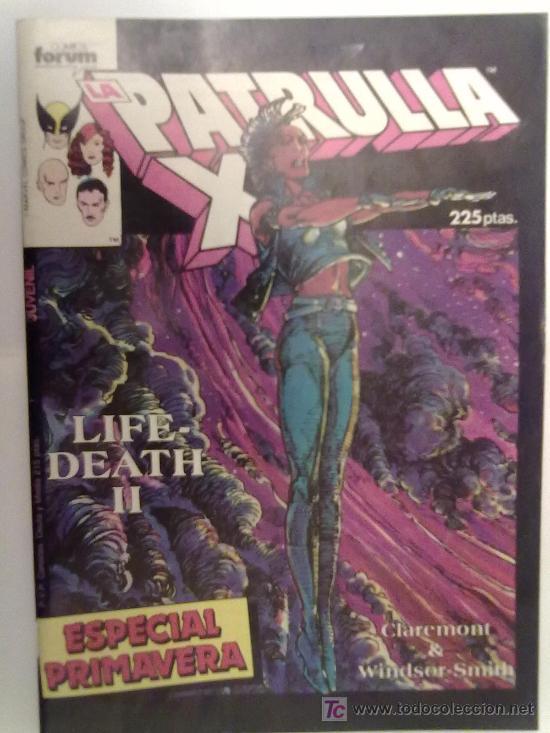 PATRULLA X -ESPECIAL PRIMAVERA 1987- (Tebeos y Comics Pendientes de Clasificar)