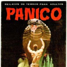 Cómics: PANICO Nº 54, 36 PAGINAS,UN NOMBRE PARA CADA LAPIDA,SOCIO CON LA MUERTE,LAS 7 VIDAS DEL GATO. Lote 19657925