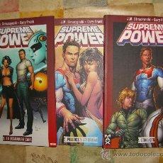 Cómics: SUPREME POWER. COLECCION COMPLETA MAS LOS DOS EXTRAS. STRACZYNSKI CJ 4. Lote 19713200