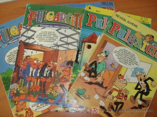 LOTE DE 10 COMICS PULGARCITO SEMANAL. 3ª EPOCA. EDITORIAL BRUGUERA. (Tebeos y Comics - Comics Colecciones y Lotes Avanzados)