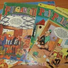 Cómics: LOTE DE 10 COMICS PULGARCITO SEMANAL. 3ª EPOCA. EDITORIAL BRUGUERA.. Lote 27546297