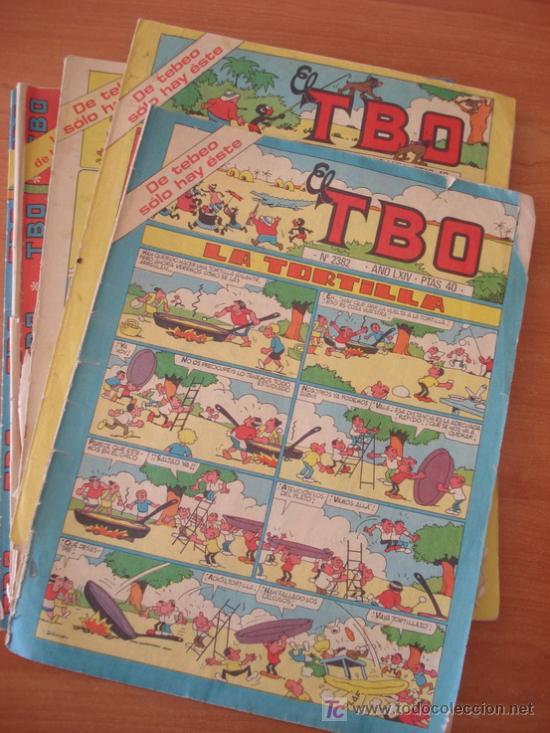 LOTE DE 151 COMICS TBO. SE INCLUYEN ALGUNOS EXTRAS. (Tebeos y Comics - Comics Colecciones y Lotes Avanzados)