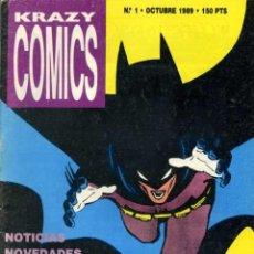 Cómics: KRAZY COMICS. COMPLOT 1989-1991. (DEL N. 1 AL 20 + EXTRA). Lote 26595821