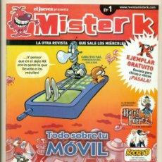 Cómics: MISTER K - Nº 1 - ESTADO IMPECABLE. Lote 20291365