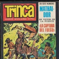 Cómics: TRINCA Nº 34. EDITORIAL DONCEL 1970.. Lote 20343244