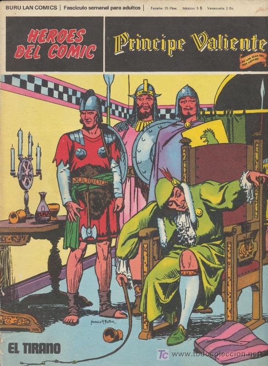 PRÍNCIPE VALIENTE Nº 8. BURU LAN 1972. (Tebeos y Comics - Buru-Lan - Principe Valiente)