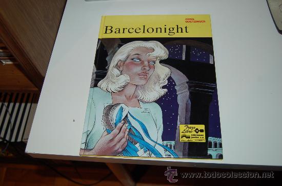 BARCELONIGHT. DE ANNIE GOETZINGER (Tebeos y Comics Pendientes de Clasificar)