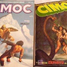 Cómics: CIMOC DE LA ED SAN ROMÁN - COMPLETA DEL Nº1 AL Nº10. + CIMOC DE LA ED. NORMA DEL Nº1 AL Nº30. Lote 20405777