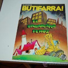 Cómics: ALBUMES BUTIFARRA: EL URBANISMO FEROZ. UN CLÁSICO DE LA TRANSICIÓN. Lote 26672629