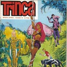 Comics : REVISTA JUVENIL TRINCA - Nº 15 - CON LA COBRA DE RAJASTHAN - 1 JUNIO 1971. Lote 22296533