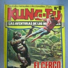 Cómics: COMICS KUNG-FU Nº 8 EDICIONES ALMAIKA 1976. Lote 26600273