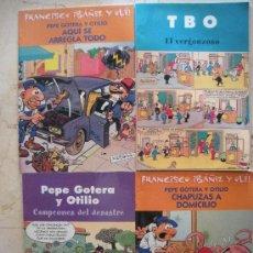 Cómics: CUATRO TEBEOS . Lote 27615973