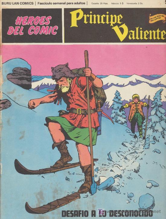 PRÍNCIPE VALIENTE Nº 50. BURU LAN 1972. (Tebeos y Comics - Buru-Lan - Principe Valiente)