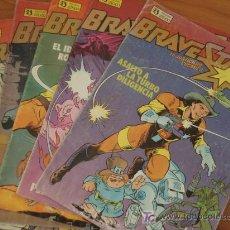 Cómics: LOTE DE 7 COMICS BRAVESTARR. EL JUSTICIERO CÓSMICO. EDICIONES ZINCO.. Lote 37775333
