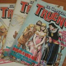 Cómics: LOTE DE COMICS EL CAPITAN TRUENO. REVISTA 1986. NUM. 1, 6, 7, 8, 9, 7. JESUS BLASCO. Lote 27183026
