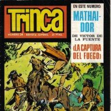 Cómics: REVISTA JUVENIL TRINCA - Nº 34 - 15 MARZO 1972. Lote 22296537