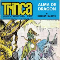 Cómics: REVISTA JUVENIL TRINCA - Nº 39 - 1 JUNIO 1972 - CON ALMA DE DRAGÓN DE ESTEBAN MAROTO. Lote 22296540