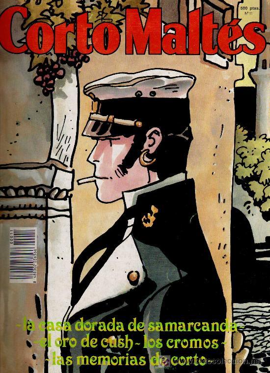 REVISTA CORTO MALTES Nº 11 - ED. NEW COMIC 1990 - EL ORO DE CUSH (Tebeos y Comics - Comics otras Editoriales Actuales)