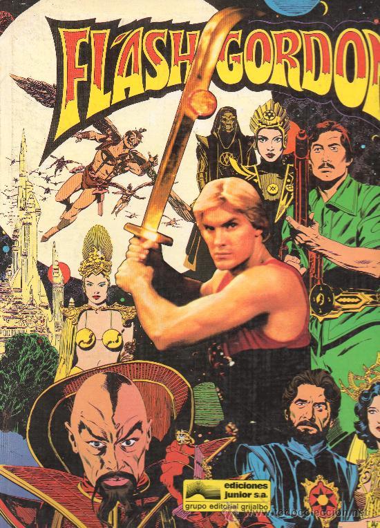 FLASH GORDON EDICIONES JUNIOR TAPA DURA (Tebeos y Comics Pendientes de Clasificar)