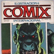 Cómics: COMIX INTERNACIONAL. TOUTAIN 1980. LOTE DE 17 EJEMPLARES CONSECUTIVOS DEL Nº 1 AL 17.. Lote 20909486