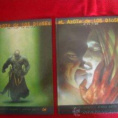 Cómics: EL AZOTE DE LOS DIOSES - MANGIN & GAJIC - EDITORAL DEVIR - COLECCION COMPLETA 2 LIBROS TAPA DURA. Lote 26897845