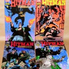 Cómics: HITMAN – FURIA EN ARKHAM 1 2 3 4 COMPLETA - GARTH ENNIS – NORMA ED - NUEVOS (PRECINTADOS). Lote 63163163