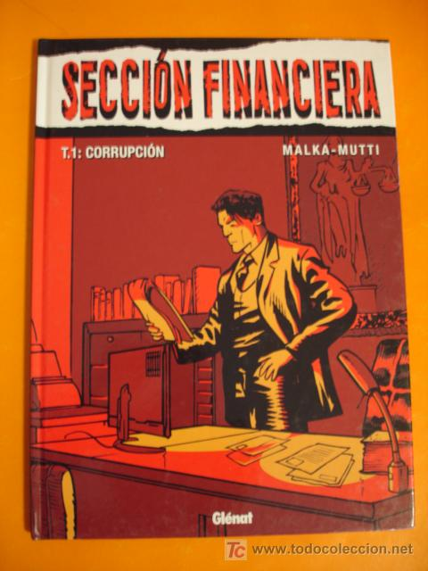 SECCION FINANCIERA TOMO 1 CORRUPCION . GLENAT. NUEVO ! (Tebeos y Comics - Comics otras Editoriales Actuales)