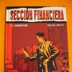 Cómics: SECCION FINANCIERA TOMO 1 CORRUPCION . GLENAT. NUEVO !. Lote 26452946