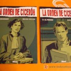 Cómics: LA ORDEN DEL CICERON TOMOS 1 - 2 . MALKA - GILLON . GLENAT . NUEVO !. Lote 26437587