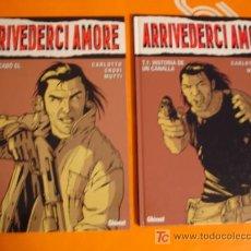 Cómics: ARRIVEDERCI AMORE . TOMOS 1 - 2 . CARLOTTO - CROVI - MUTTI . GLENAT . NUEVOS !. Lote 26551736