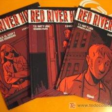 Cómics: RED RIVER HOTEL . TOMOS 1- 2 - 3 . COMPLETA. CORNETTE - CONSTANT . GLENAT . NUEVOS !. Lote 26452899