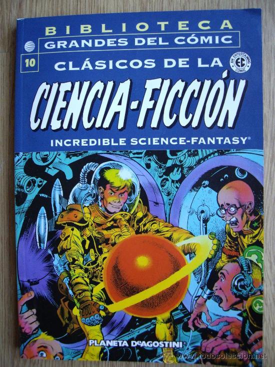 BIBLIOTECA GRANDES DEL COMIC. CLASICOS DE LA CIENCIA FICCIÓN. Nº 10. PLANETA (Tebeos y Comics - Comics otras Editoriales Actuales)