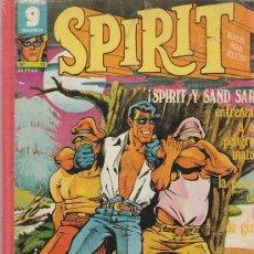 Cómics: SPIRIT, 7 NÚMEROS EN UN TOMO (Nº 3 AL 8 MÁS EL 13). EDICIONES GARBO 1973. 476 PÁGINAS BLANCO/NEGRO. Lote 25191864