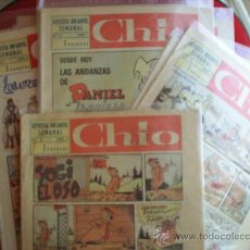 Cómics: LOTE DE 8 REVISTA INFANTIL SEMANAL , CHIO - 1965 - TAMBIEN SE VENDEN SUELTOS , PREGUNTAR -. Lote 23602250