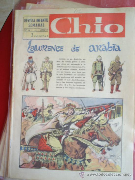 Cómics: lote de 8 revista infantil semanal , CHIO - 1965 - tambien se venden sueltos , preguntar - - Foto 2 - 23602250