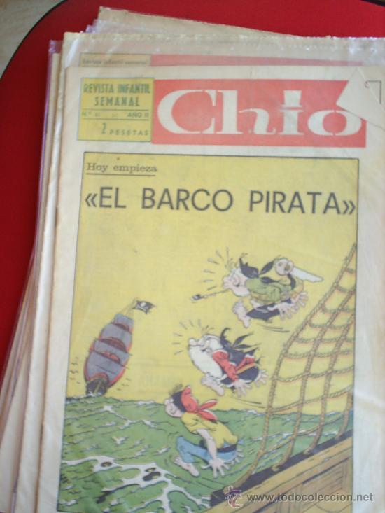 Cómics: lote de 8 revista infantil semanal , CHIO - 1965 - tambien se venden sueltos , preguntar - - Foto 3 - 23602250