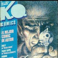 Cómics: K . O . COMICS Nº 3 - METROPOL 1983 - WILL EISNER, ALEX TOTH ,BOGEY , CAPPA. Lote 21495201