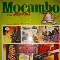 Cómics: MOCAMBO O LA AVENTURA, COMIC PARA ADULTOS Nº 2. EDITORIAL METROPOL 1983. NUEVO.. Lote 25292716