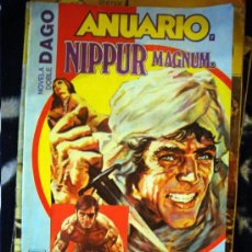 Cómics: COMIC NOVELA DOBLE DAGO. ANUARIO NIPPUR MAGNUM Nº 7 EDITORIAL COLUMBA 1984. Lote 26425774